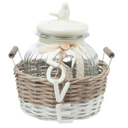 Clayre & Eef   Basket with...