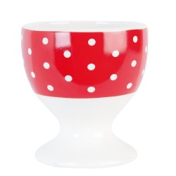 Egg cup | Ø 5*6 cm | Red |...