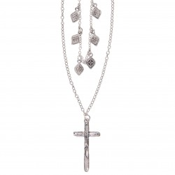 Necklace | Silver colored |...