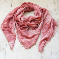 Scarf | 140*140 cm | pink |...