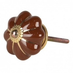 Doorknob | Ø 4*4 cm | Brown...
