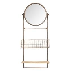 Miroir avec étagère et...