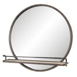 Miroir   60*11*60 cm   Brun...