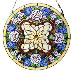 Tiffany glass panel | Ø 60...