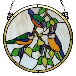 Glaspaneel Tiffany | Ø 30...