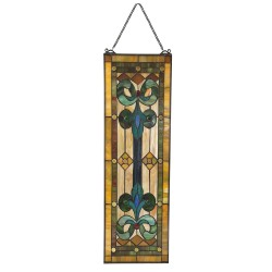 Tiffany glass panel | 25*73...