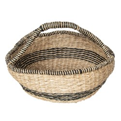 Basket | Ø 60*26 cm | Brown...