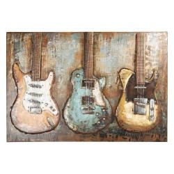 Wanddecoratie gitaren |...
