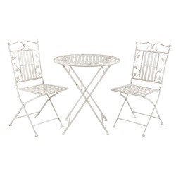 Table + 2 chairs | Ø 70*77...