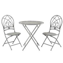 Tafel + 2 stoelen  | Ø...