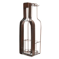 Bottle holder with wine...