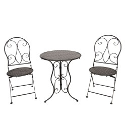 Table + 2 chairs | Ø 60*70...