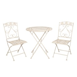 Table + 2 chairs | Ø 70*76...