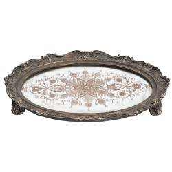 Tray   40*30*5 cm   Brown  ...
