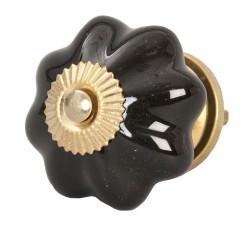 Doorknob | Ø 4.5 cm | Black...