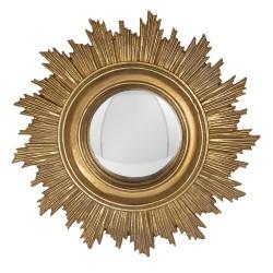 Mirror | Ø 18*2 cm | Gold |...