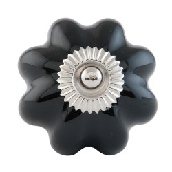Doorknob | Ø 4 cm | Black |...