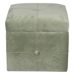 Footstool with storage...