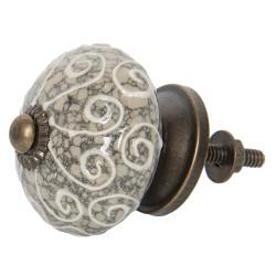 Doorknob | Ø 4 cm | Gray |...