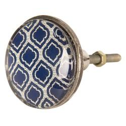 Deurknop | Ø 5*8 cm | Blauw...