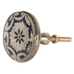 Doorknob | Ø 5*8 cm | Blue...