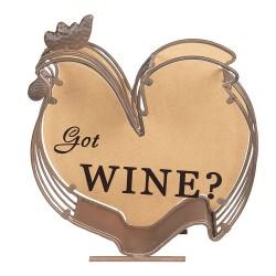Porte bouchon vin | 23*9*26...