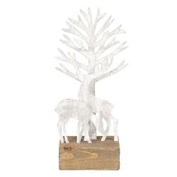 Décoration arbre et cerfs |...