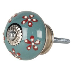 Doorknob | Ø 4*4 cm | Green...