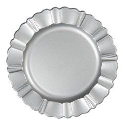 Plate | Ø 33 cm | Silver |...