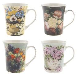 Clayre & Eef Mugs Set of 4...