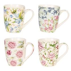 Mugs (set 4) | 9*10 cm /...