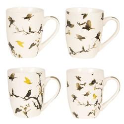 Mugs (set 4) | Ø 9*10 cm /...