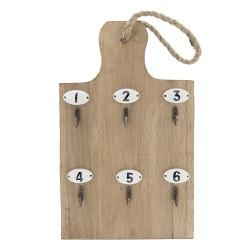 Clayre & Eef Key Rack...