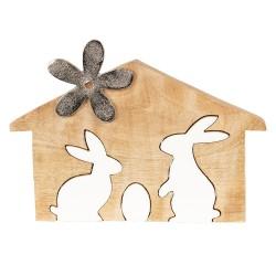Décoration lapins   26*2*17...