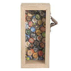 Beer cap holder with bottle...