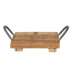 Tray | 20*20*9 cm | Brown |...