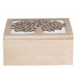 Kist van hout | 20*20*9 cm...
