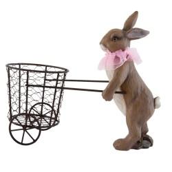 Decoratie konijn   31*14*26...
