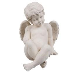 Ange   13*17*15 cm   Blanc...