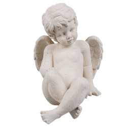 Angel | 13*17*15 cm | White...