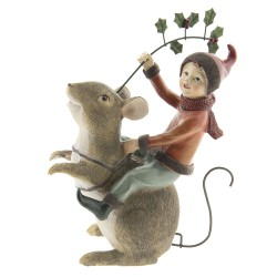 Decoration mouse with fairy...