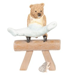 Decoration bear gymnastics...