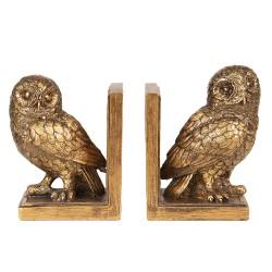 Bookend ( set 2 ) owls  ...