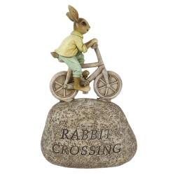 Décoration lapin à vélo |...