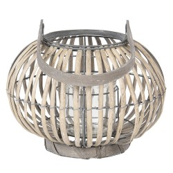 Lantern | Ø 28*20 cm | Grey...