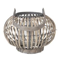 Lantern | Ø 25*18 cm | Grey...