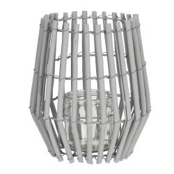 Lantern   Ø 18*20 cm   Grey...