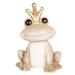 Decoration frog with crown...