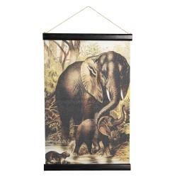 Wandkaart dieren | 40*2*60...