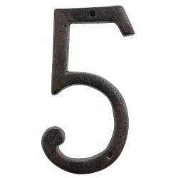 Numéro (5) | 15 cm | Marron...